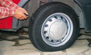 Dépannage pour pneu crevé